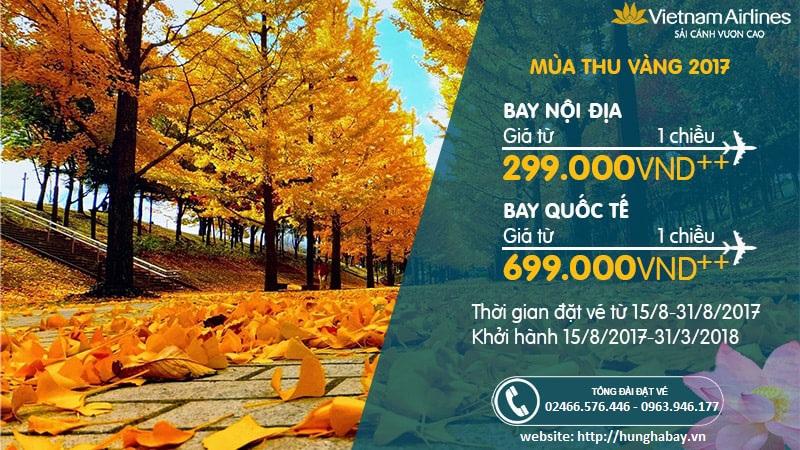 Vé máy bay Vietnam Airline giá rẻ