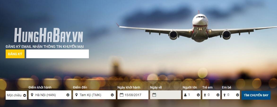 Đặt vé máy bay đi Tam Kỳ
