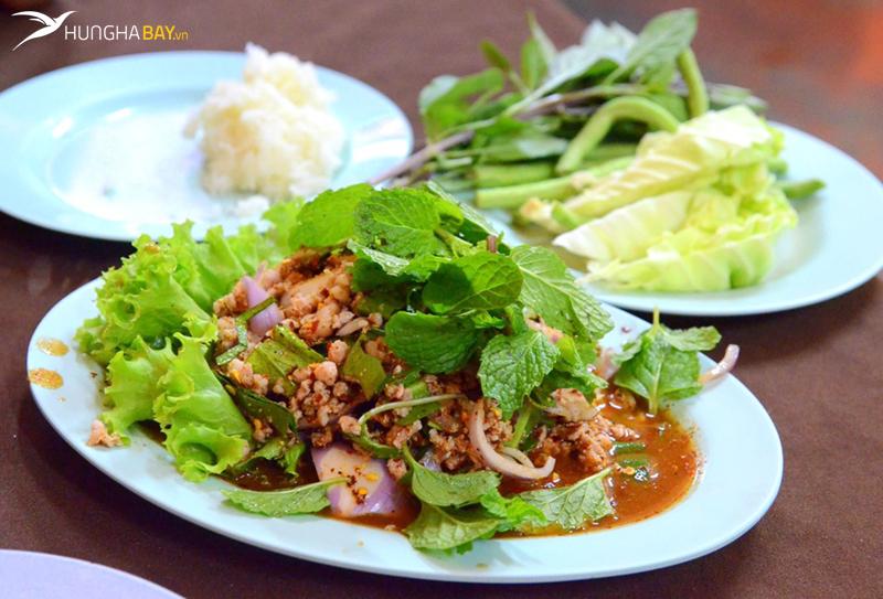 Lạp - món ngon Lào