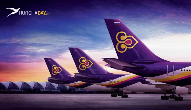 Đội bay và mạng đường bay của vé máy bay Thai Airways