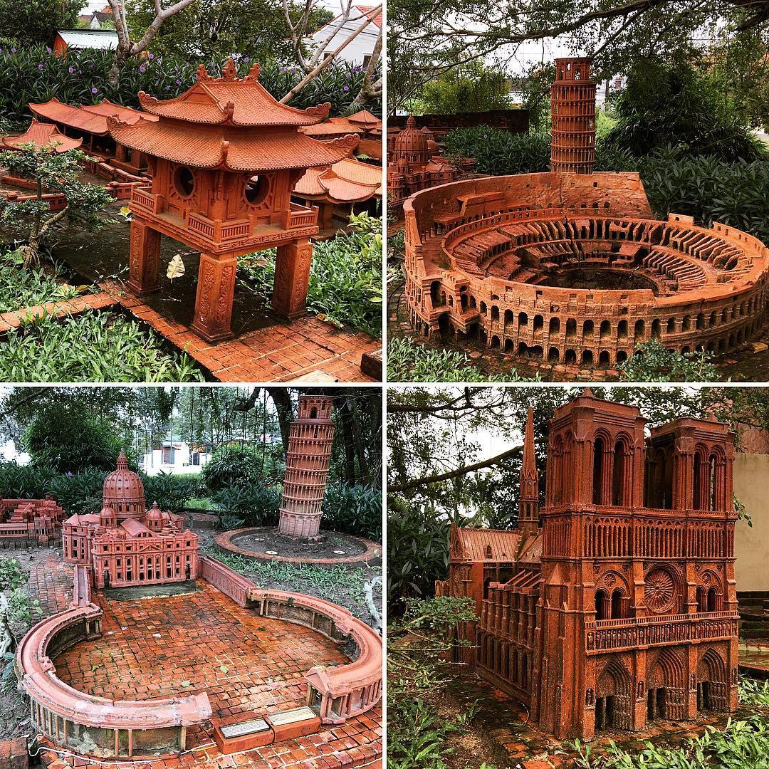 Công viên Thanh Hà tái hiện những điểm du lịch nổi tiếng khắp thế giới
