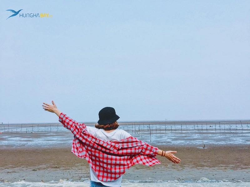 Biển Cồn Vành Thái Bình