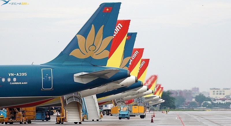 Một số chặng vé máy bay đi Hà Nội khác