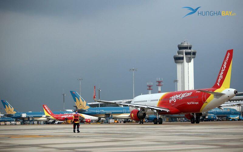Các đường bay nội địa tại sân bay Vinh