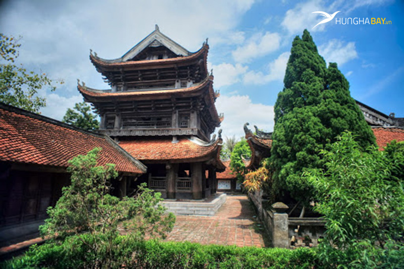 Chùa keo huyện Vũ Thư, tỉnh Thái Bình