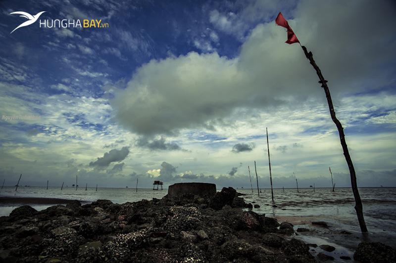 Biển Cồn Đen huyện Tiền Hải, Thái Bình
