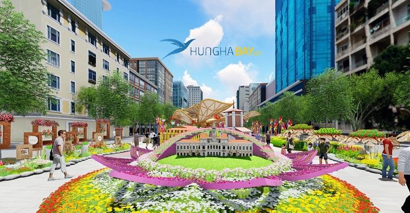 Đường Nguyễn Huệ – Quận 1 SG