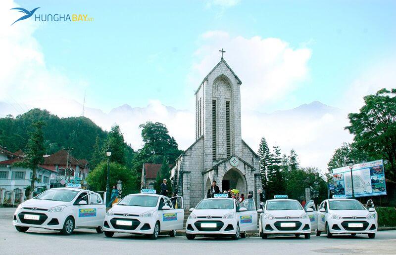 Đi taxi du lịch Lào Cai