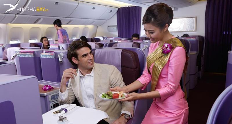 Hạng ghế vé máy bay Thai Airways