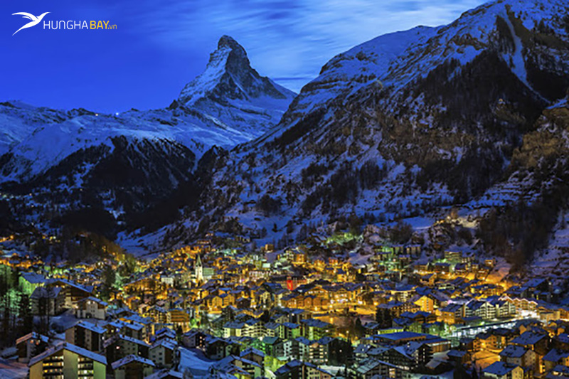 Thị trấn Zermatt, Thụy Sĩ