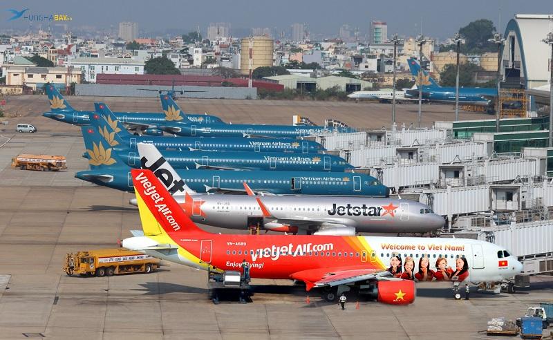 Các hãng hàng không có vé máy bay đi hà nội