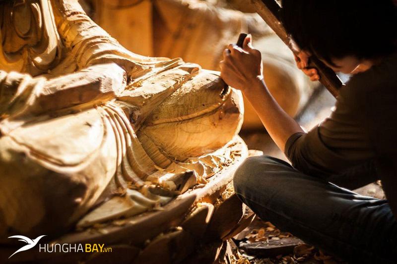 Làng chạm khắc gỗ Đông Giao Hải Dương