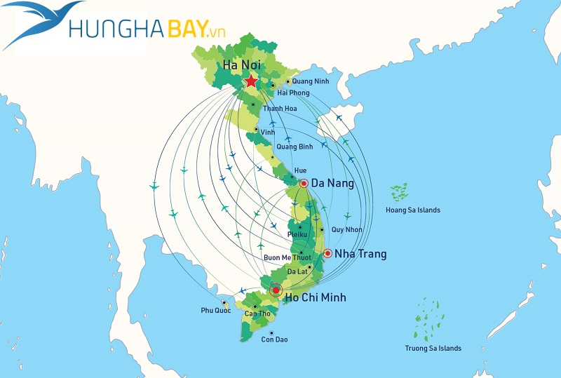 Giá vé máy bay đi Quy Nhơn – Thành phố Hồ Chí Minh
