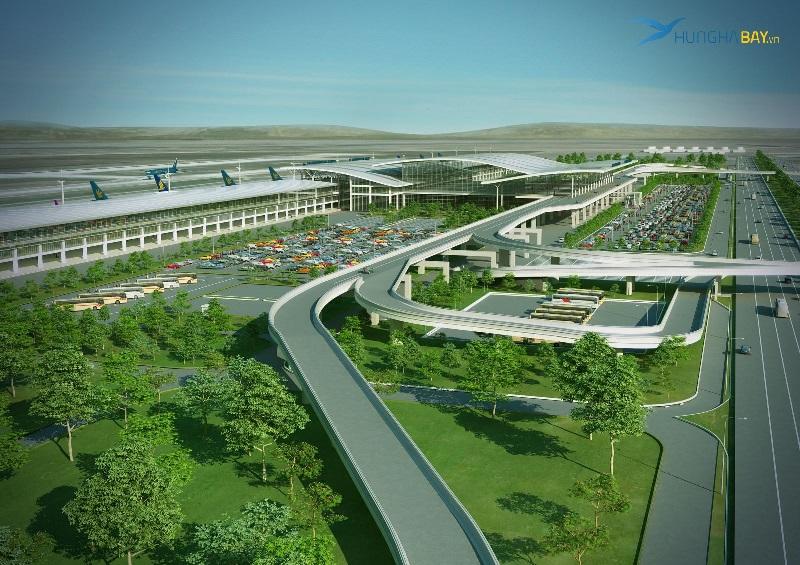 Nhà ga T2 Sân bay Nội Bài - Hà Nội
