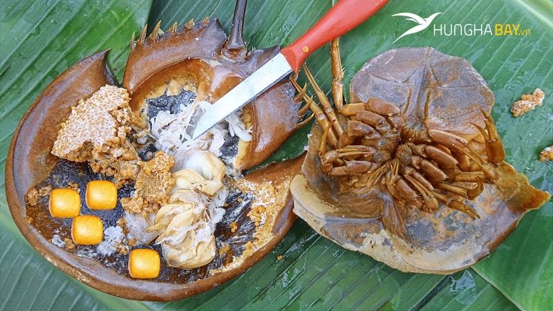 Các món chế biến từ hải sản tươi ngon tỉnh Quảng Ninh