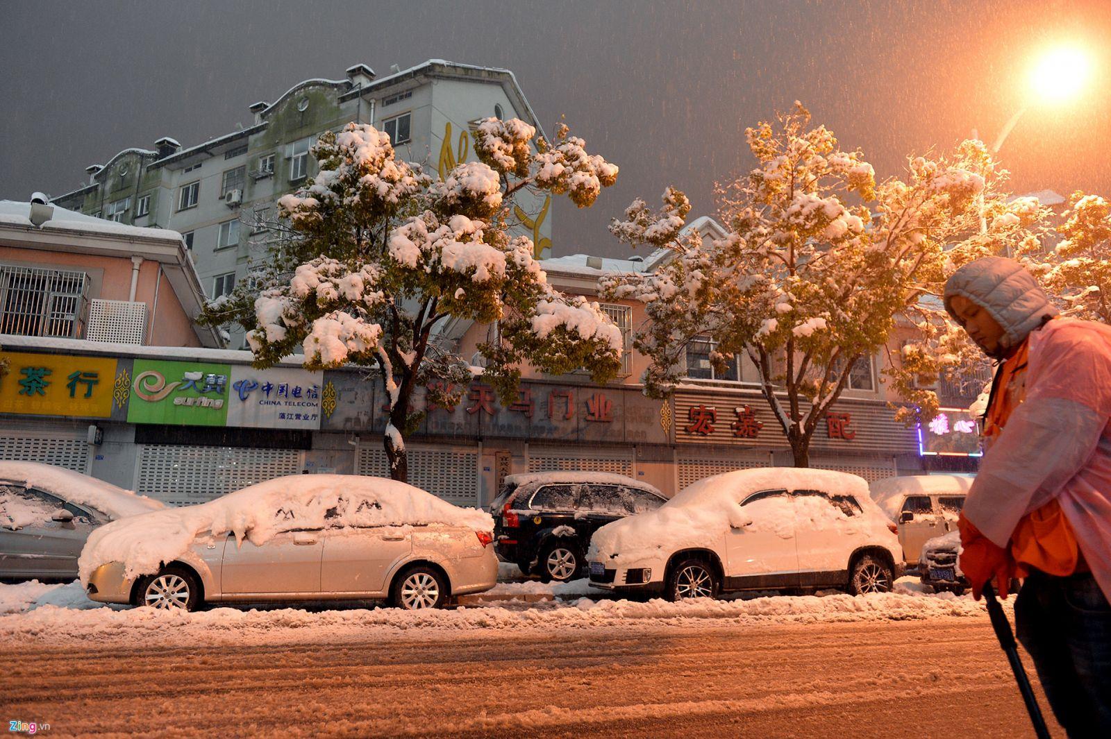 Thường Châu tuyết rơi trắng xóa
