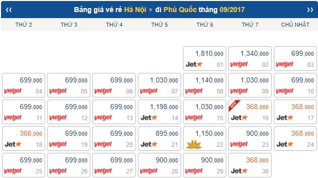 vé máy bay giá rẻ đi phú quốc