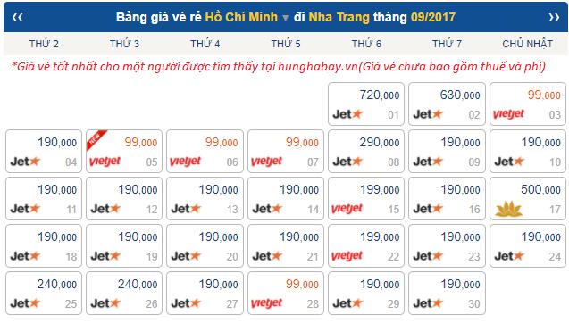 Ve may bay di Nha Trang gia re