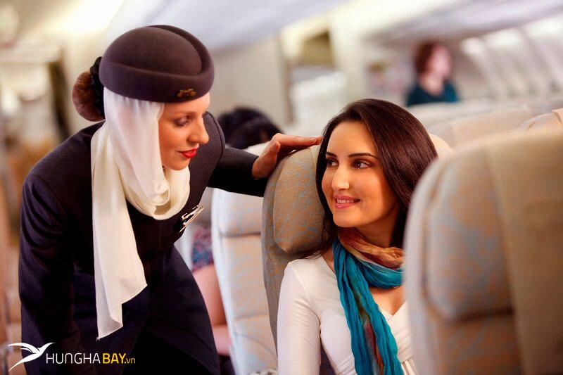 vé máy bay Eithad Airways điều kiện