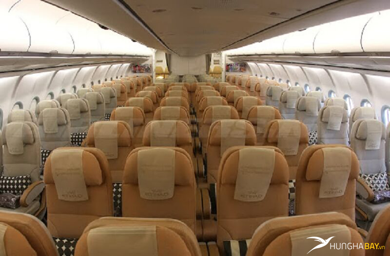 vé máy bay Eithad Airways -các hạng ghế