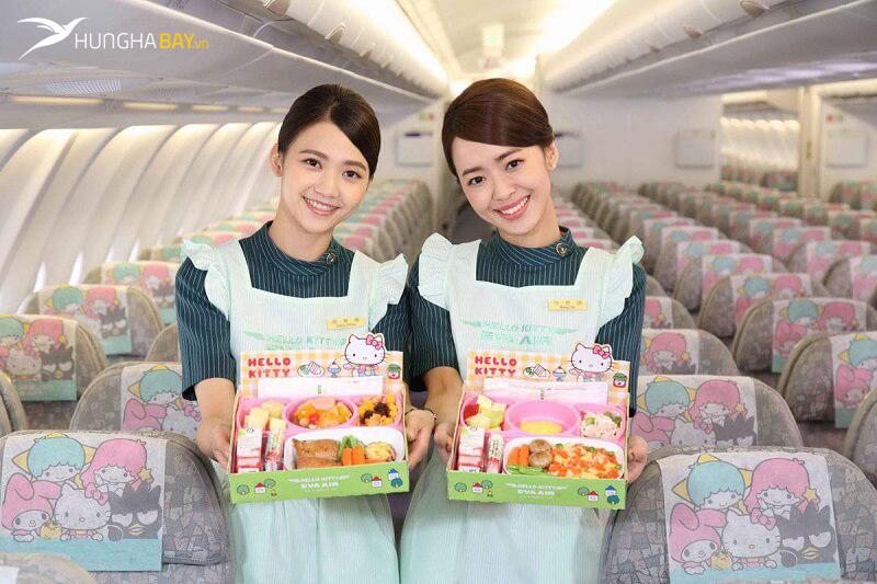 Vé máy bay Eva Air đi Đài Loan
