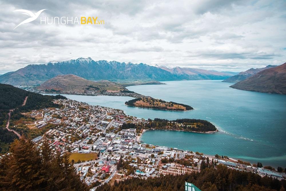 các sân bay đón khách Việt mua vé máy bay đi New Zealand