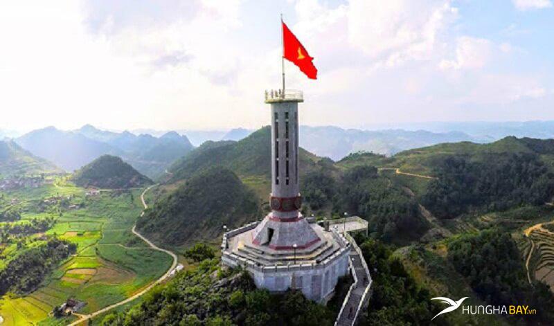 vé máy bay đi Hà Giang cột cờ Lũng Cú