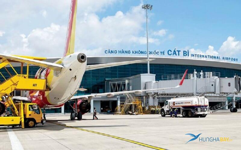 đặt vé máy bay đi Hải Phòng đến sân bay quốc tế Cát Bi