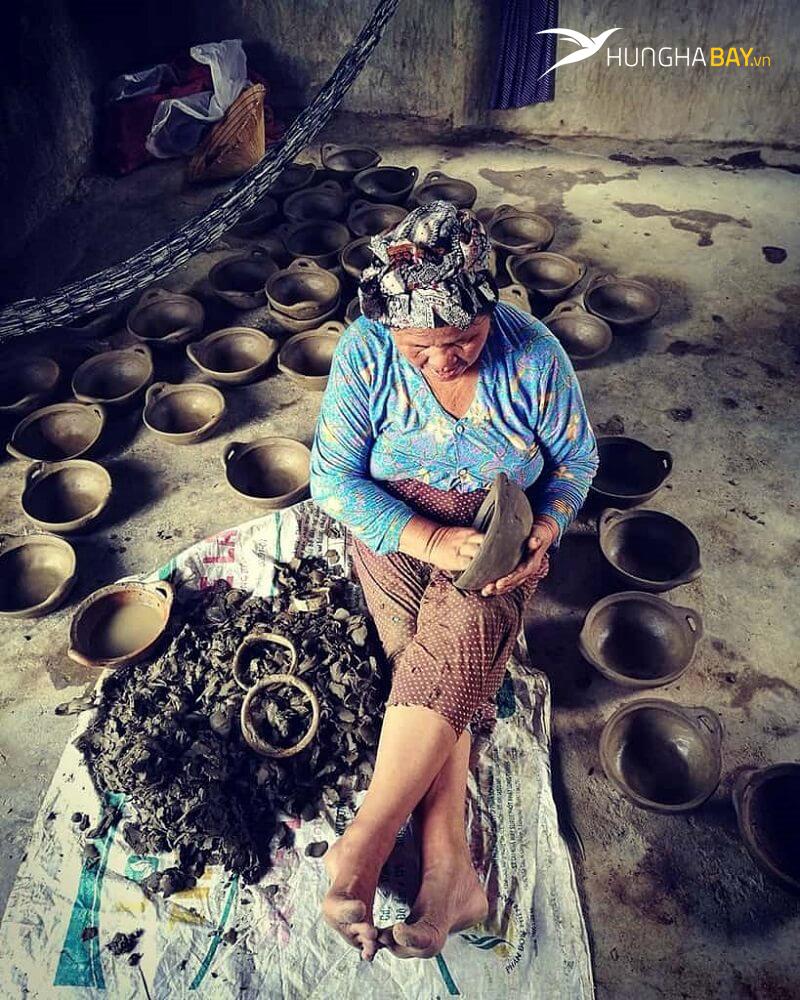 vé máy bay đi Ninh Thuận làng nghề gốm