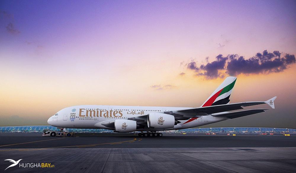 Điểm đến phổ biến trong mạng lưới đường bay của Emirates Airlines