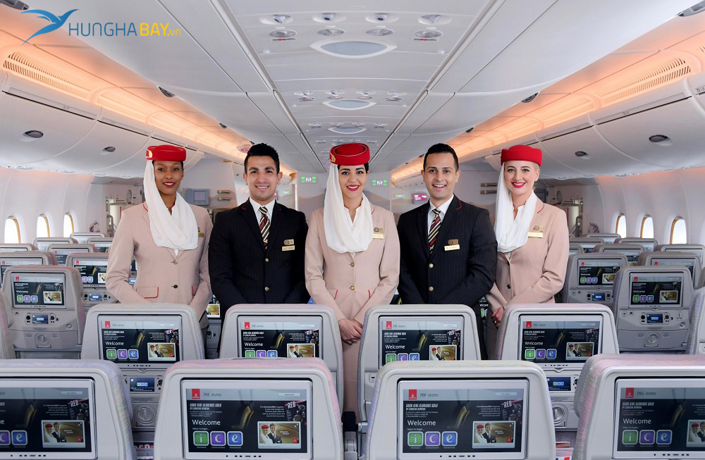 Các hạng ghế bay Emirates Airlines
