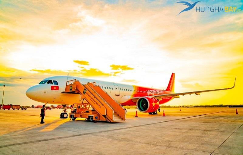 Vé máy bay đi Huế Vietjet Air