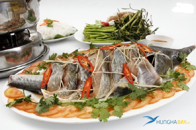 Đặt vé máy bay đi Kon Tum ăn cá tầm