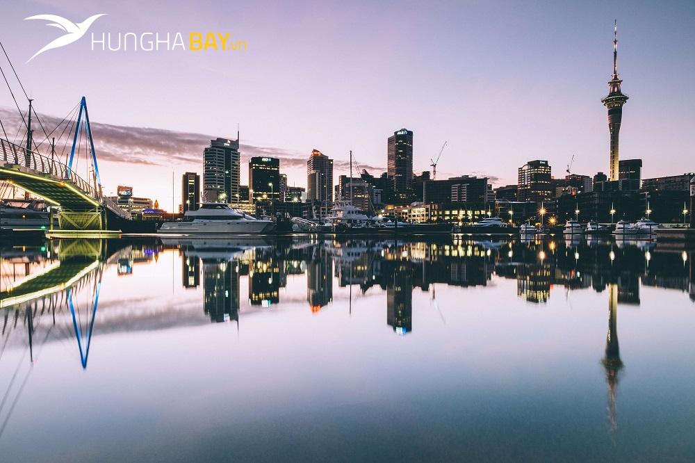 chặng bay từ Việt Nam đên Auckland - New Zealnad