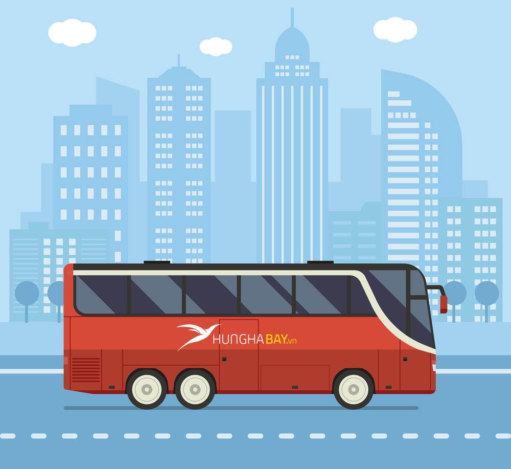 Di chuyển bằng phương tiện xe buýt
