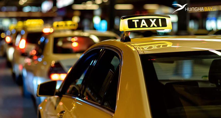di chuyển bằng taxi từ sân bay rạch giá
