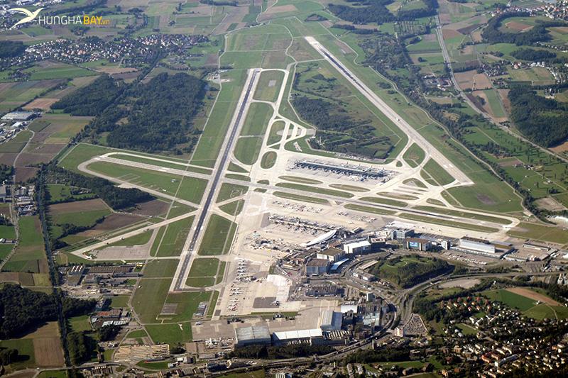 Thông tin về sân bay và đường bay đến Thụy Sĩ