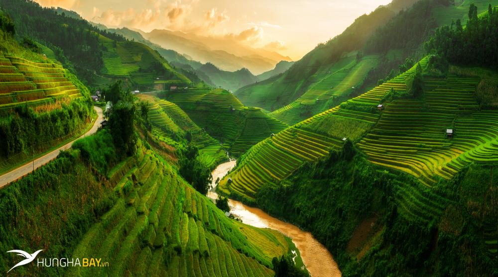 Book ngay vé máy bay đi Yên Bái giá rẻ tại Hưng Hà Bay