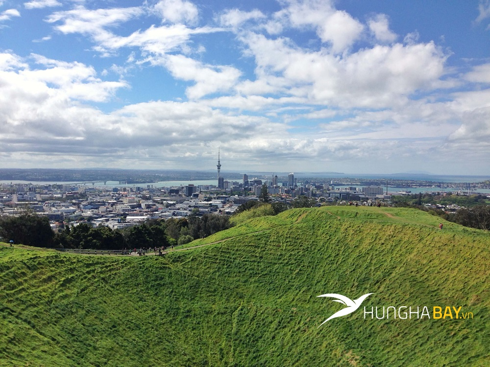 vé máy bay đi New Zealand đến Christchurch