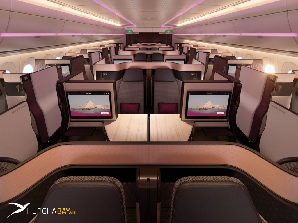 Nên đặt vé máy bay của hãng hàng không Qatar Airways tại Hưng Hà Bay