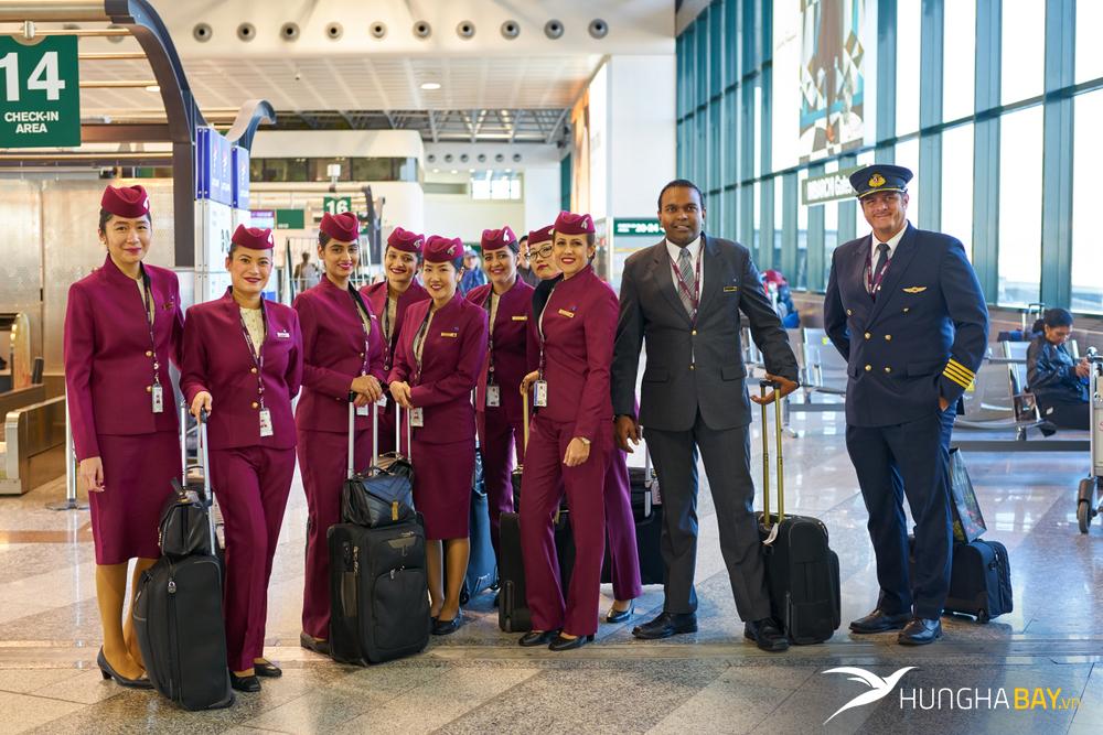 Qatar Airways đưa ta khám phá hầu hết những đường bay nào phủ khắp 5 châu
