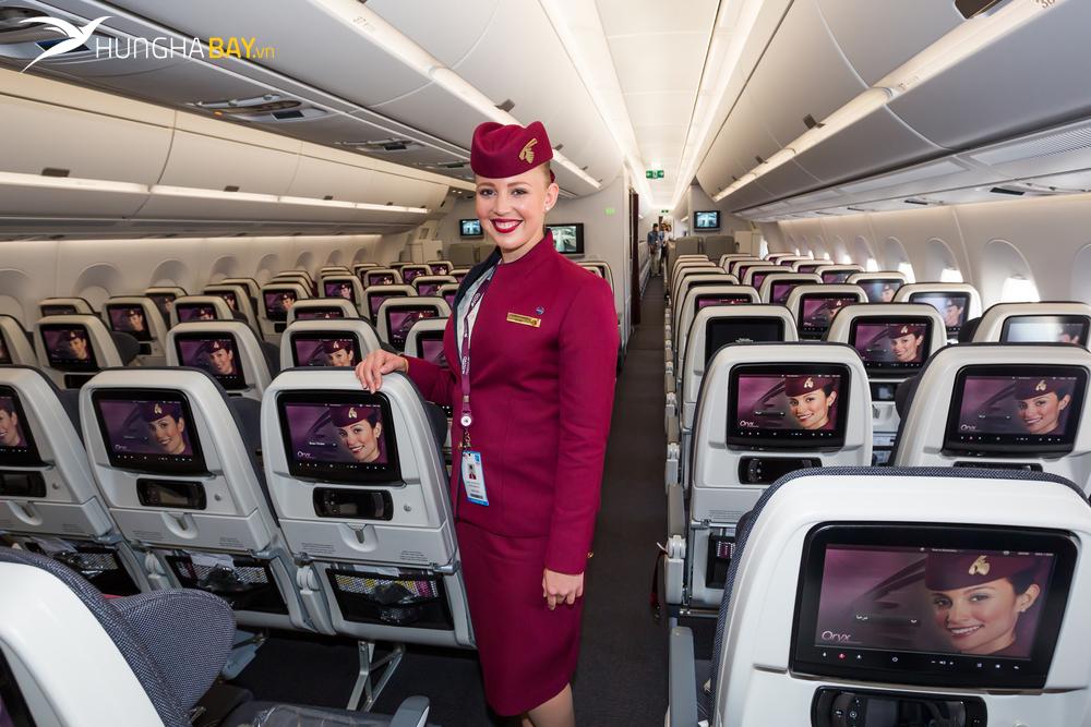 Tìm hiểu về đội bay Qatar Airway - chủ xị của hãng không hiện đại bậc nhất