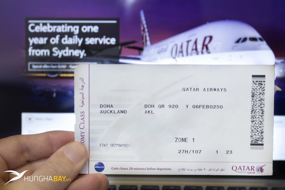 Kinh nghiệm đặt vé máy bay giá rẻ của hãng Qatar Airways?
