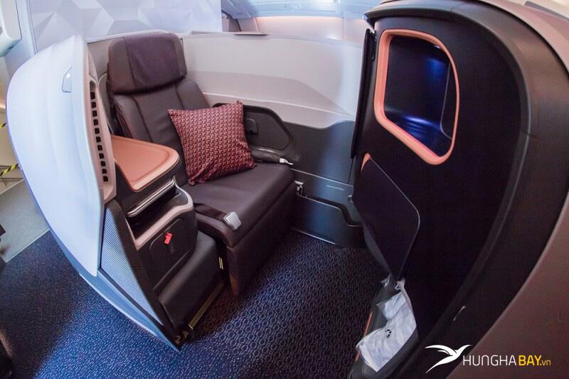 Hạng ghế và những quy định về hành lý của hãng Singapore Airline