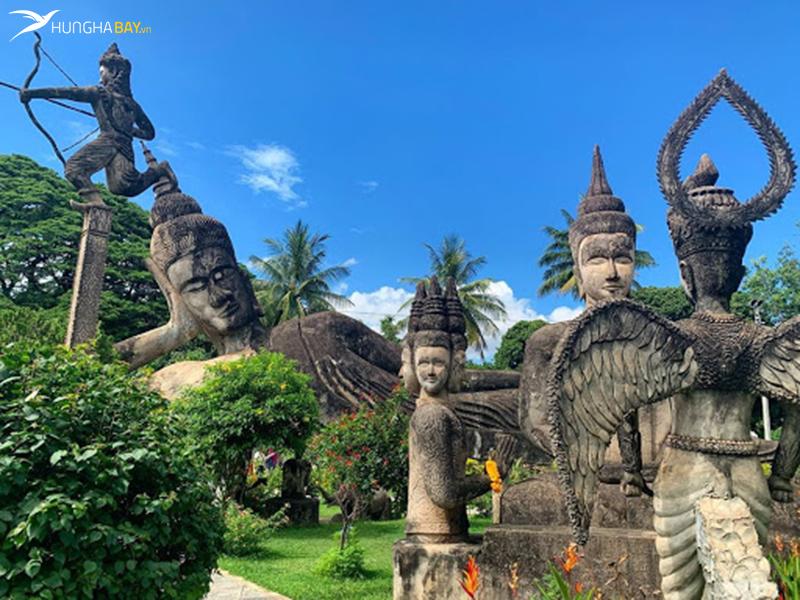Vườn tượng Phật ở Lào
