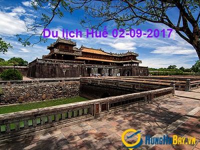 Đặt vé máy bay giá rẻ đi Huế dịp 2-9 cùng Vietnam Airlines