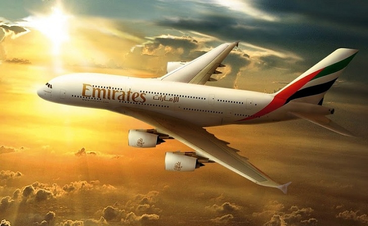 Mua vé máy bay Emirates Airlines