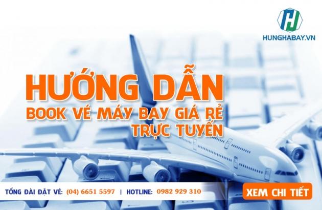 Hướng dẫn đặt vé máy bay trực tuyến
