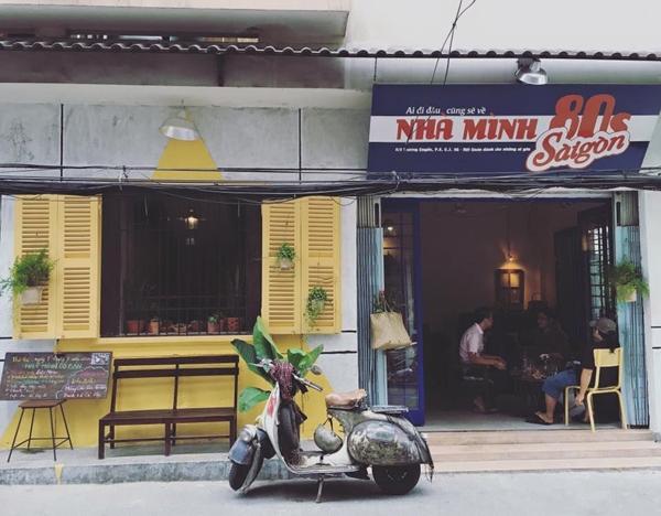 5 quán cà phê ẩn trong hẻm hút khách ở Sài Gòn