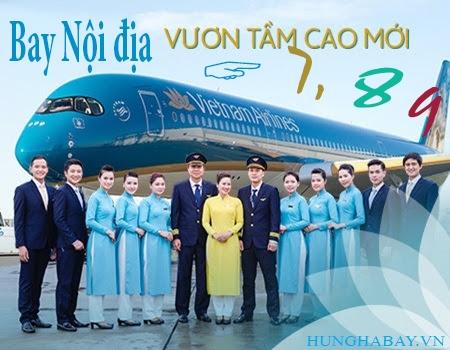 Thỏa sức bay nội địa khi mua vé máy bay giá rẻ của Vietnam Airlines trong tháng 7, 8, 9